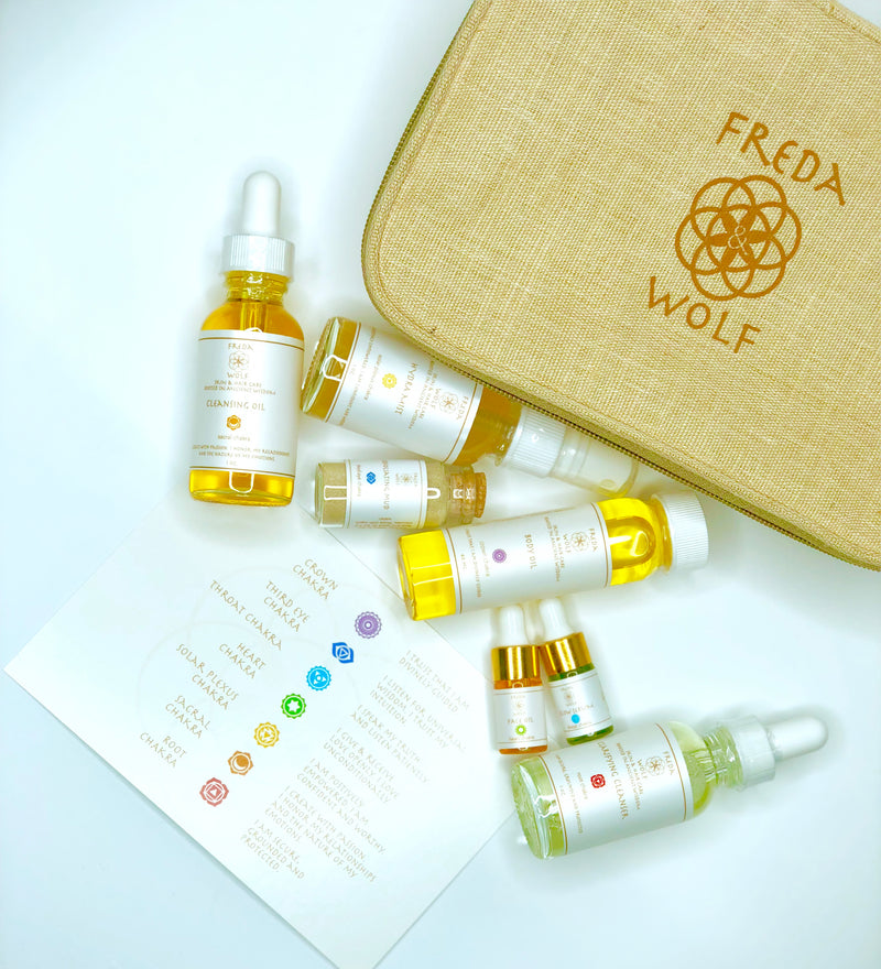 Portable Holistic Skincare Kit - Freda & Wolf