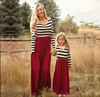 Mommy N Me Striped Maxi Dress