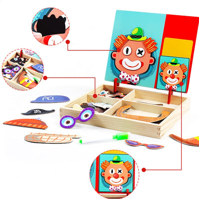Educational Magnetic Dress Up Board