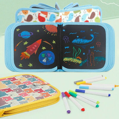 Educational Erasable Drawing Pad