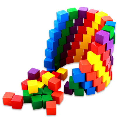 LilyBlocks™ - Creative Wooden Building Blocks