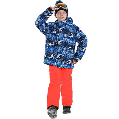 Boys Premium Waterproof Snow Suit