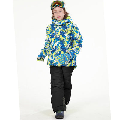 Boys Stylish Waterproof Snow Suit