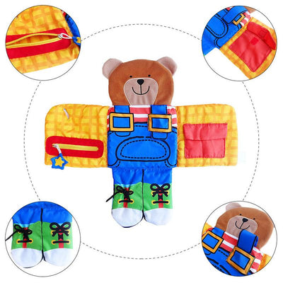 The Dress Up Bear Learning Kit