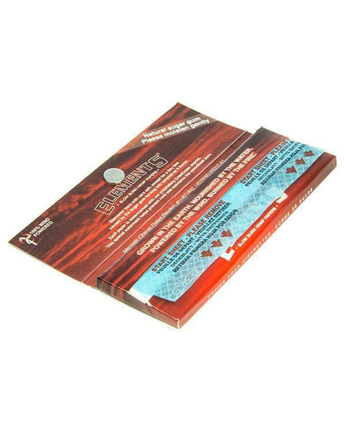 Red Collector's Series 1-1/4 Rolling Papers