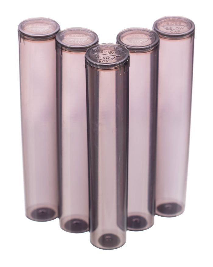 98mm pop top vials - 5 ct. Tinted