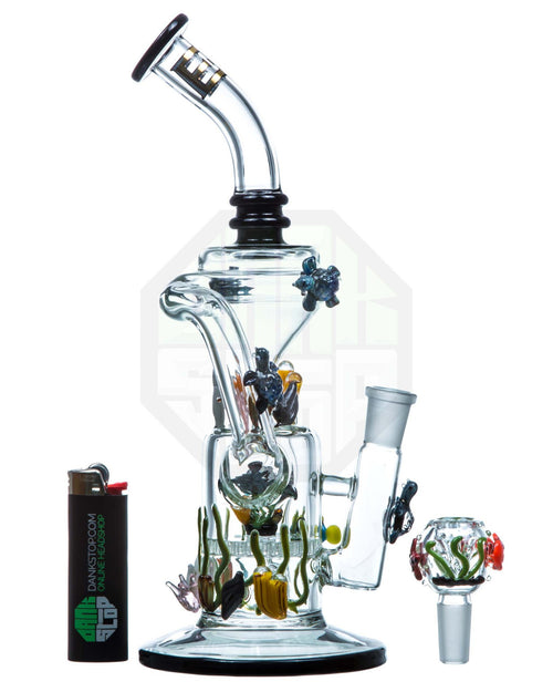 male bowl removed from recycler