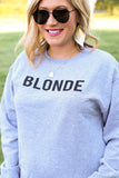 Blonde Sweatshirt in Grey