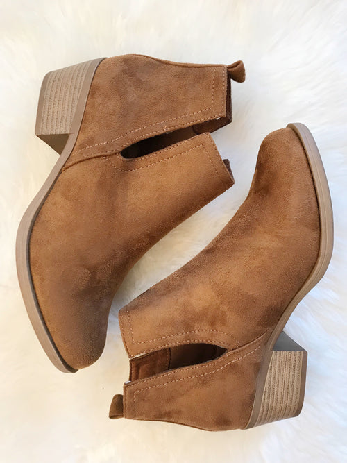 Tilly Suede Booties