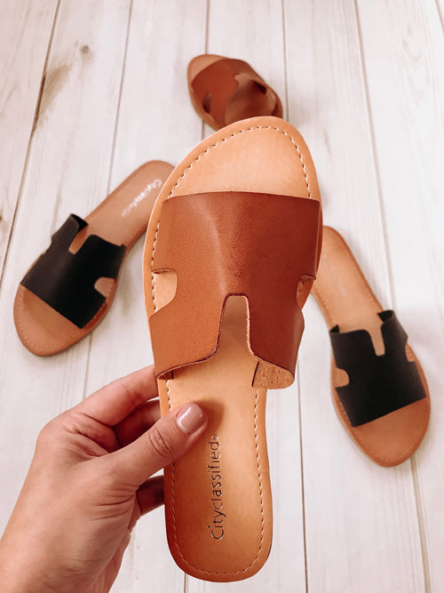 Brenna Sandals (2 Colors!)