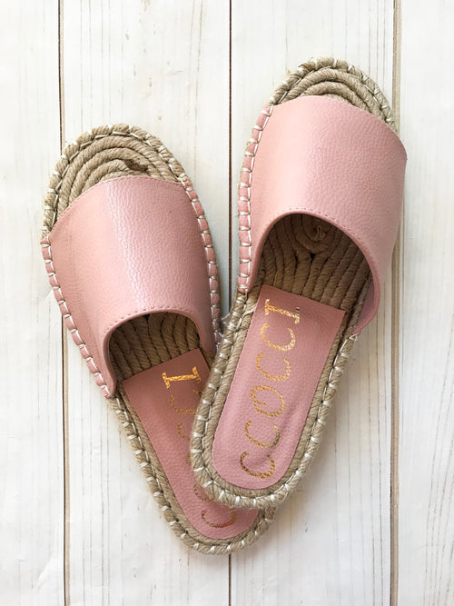 Calla Sandals in Blush