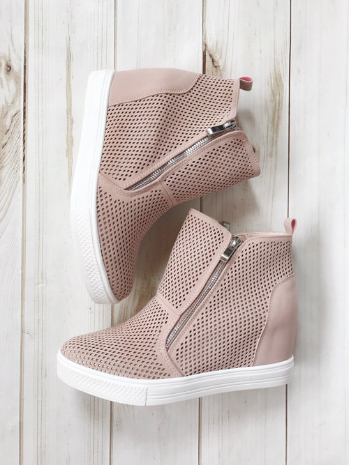 Tia Wedge Sneakers (2 Colors!)