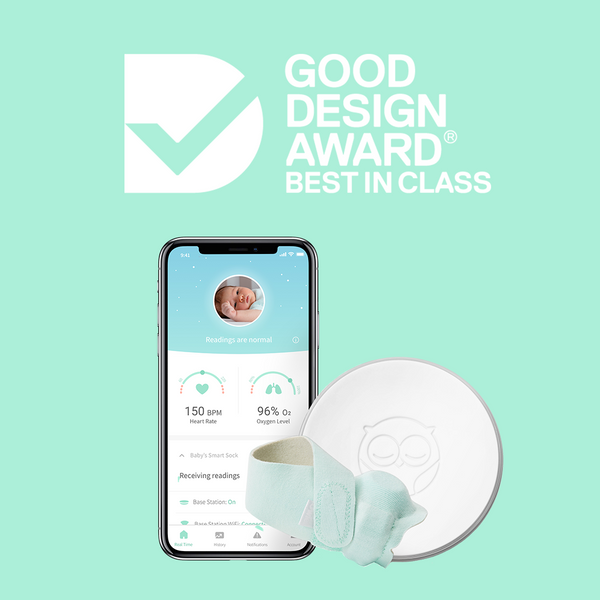 Owlet Smart Sock 2 Baby Monitor wins Australia's coveted Good Design Award for Design Excellence