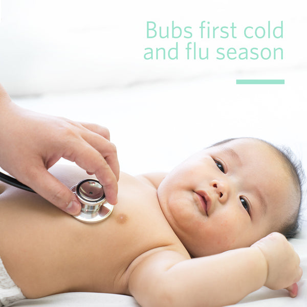 Bubs First Cold & Flu Season