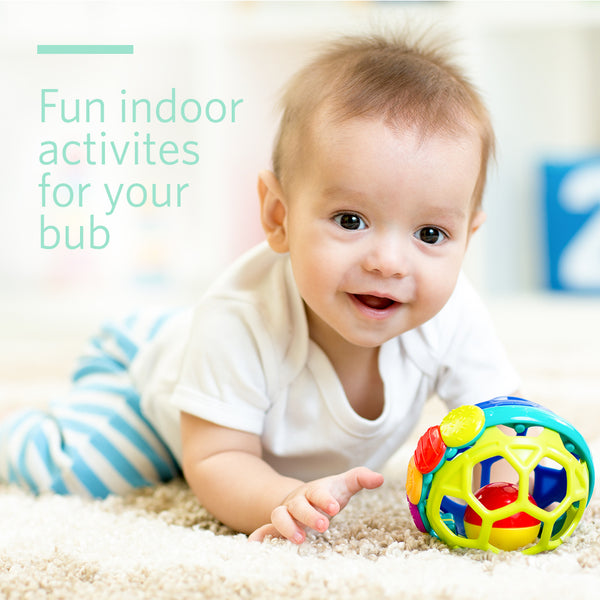 Fun Indoor Activities for Your Bub