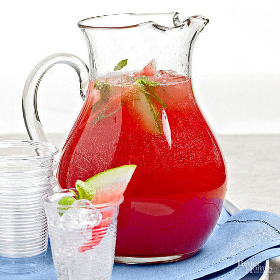 Mouthwatering Watermelon Cooler