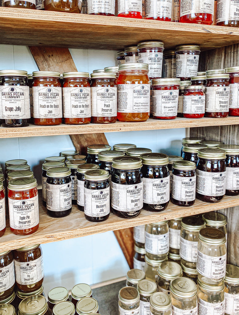 Jams, jellies, and preserves at Ganas Market