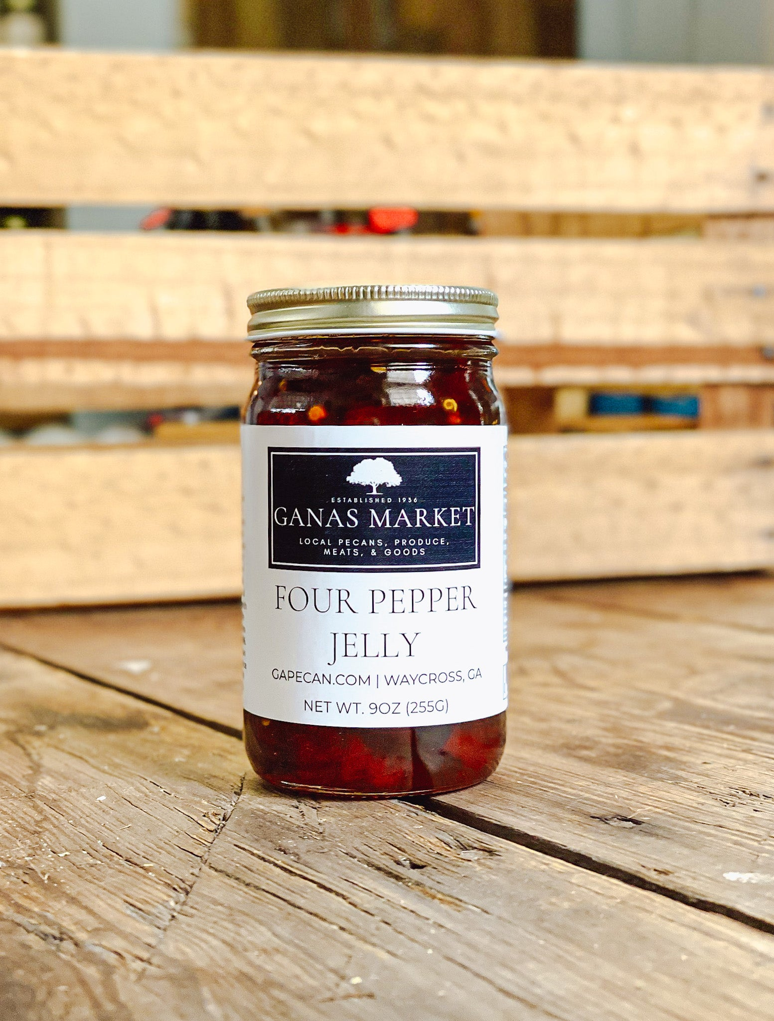 Four Pepper Jelly  (9oz.)