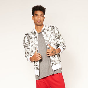 Full Zip - Tonal Floral