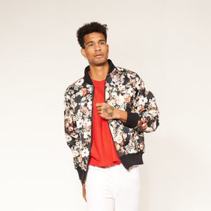 Full Zip - Winter Floral
