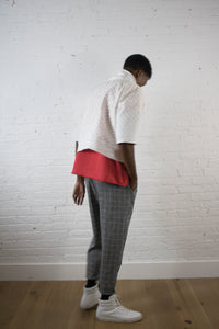 HEATHER CHECK PANT