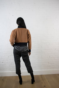 HEAVY BUFF CROP JACKET