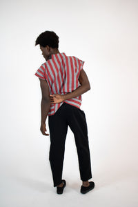 pleat front relaxed pant