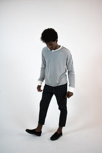 BW check relax pant