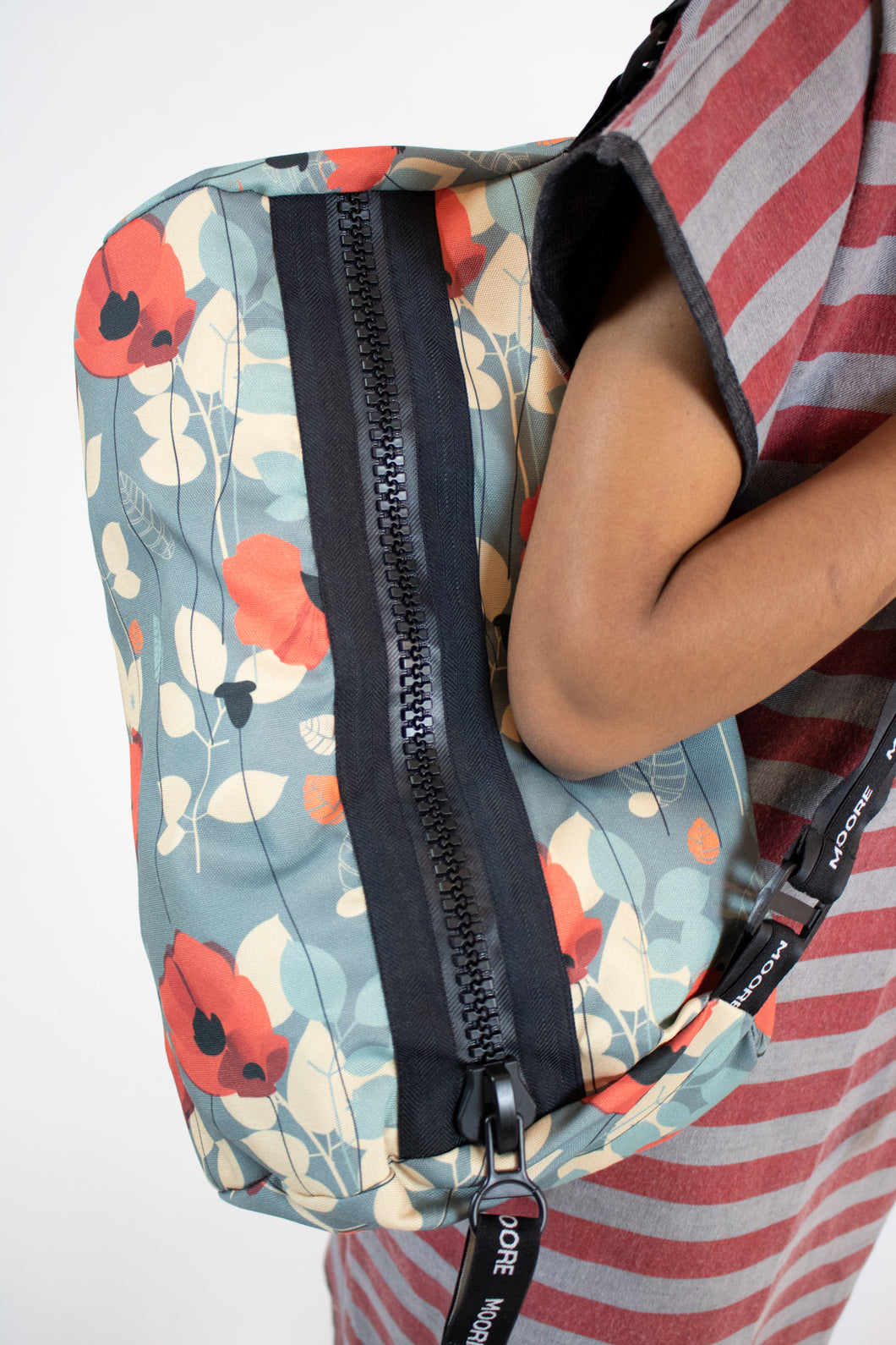 major zip poppy duffle