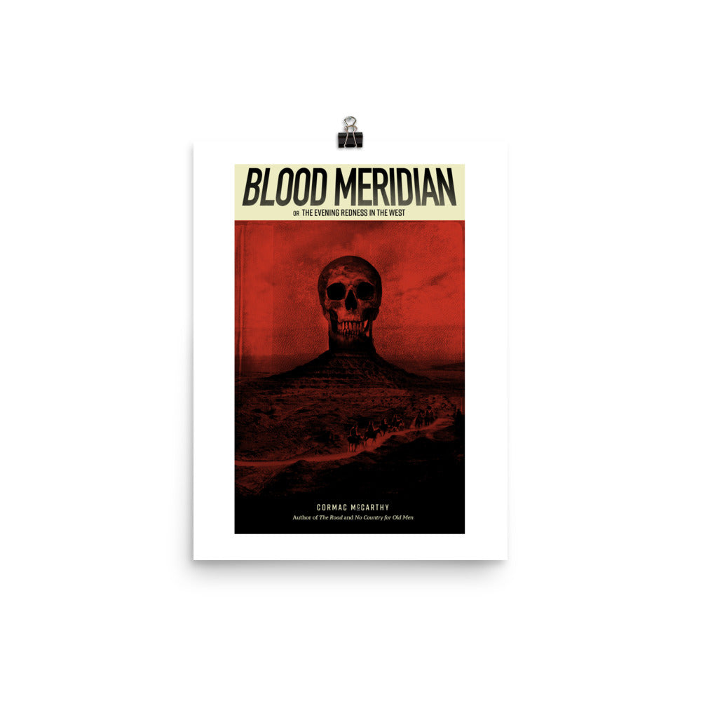 Blood Meridian Art Print - BookFair Supply Co.