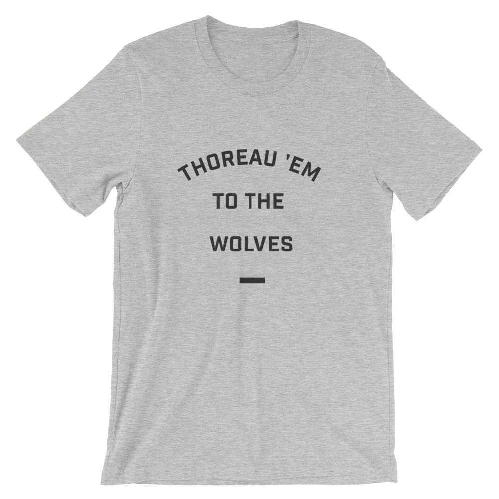 Thoreau 'Em to the Wolves Tee - BookFair Supply Co.