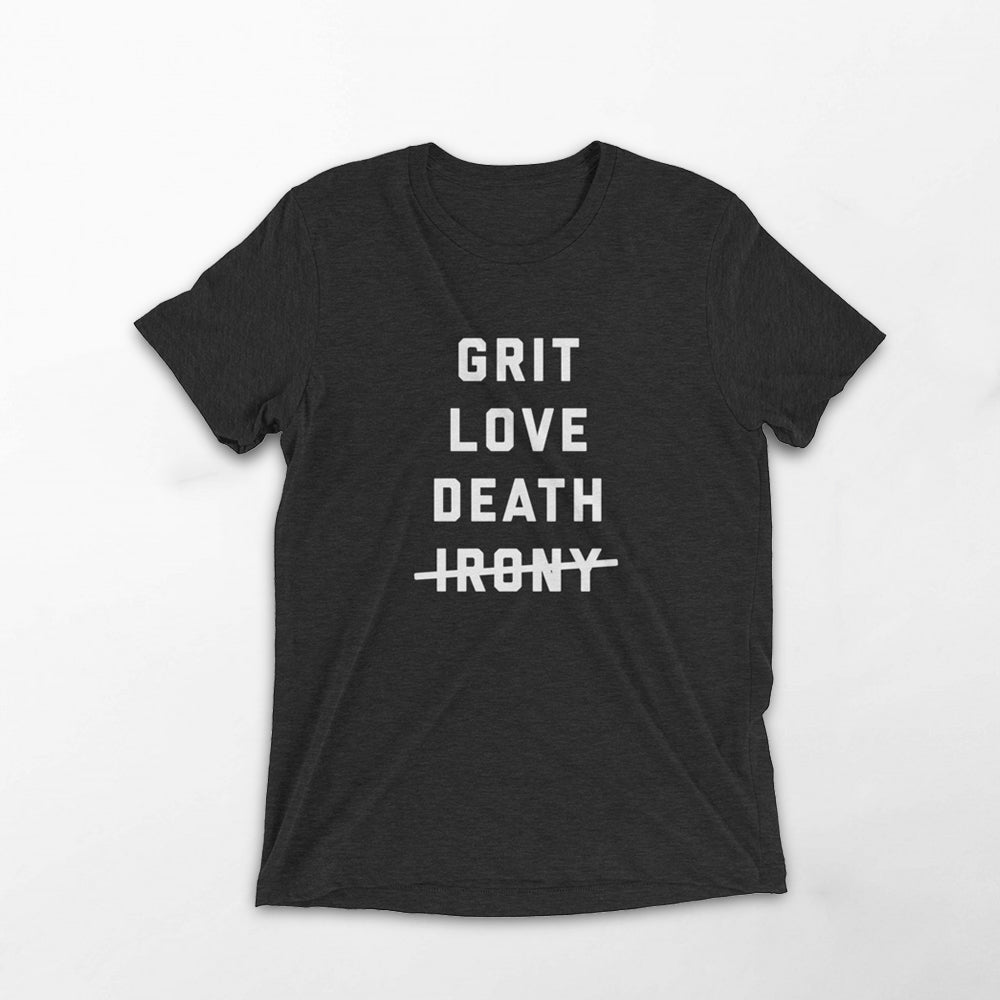 Grit Love Death Tee - BookFair Supply Co.
