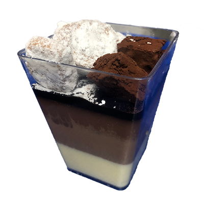 3 Chocolate Verrine