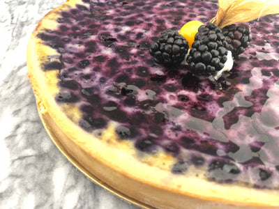 Blueberry Norman Tart