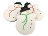 Snow Man Cookie