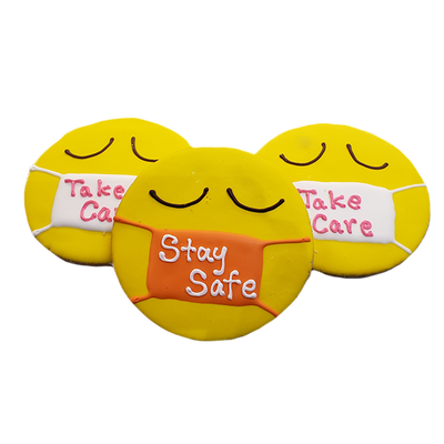 Mask Cookie — Stay Safe, Take Care