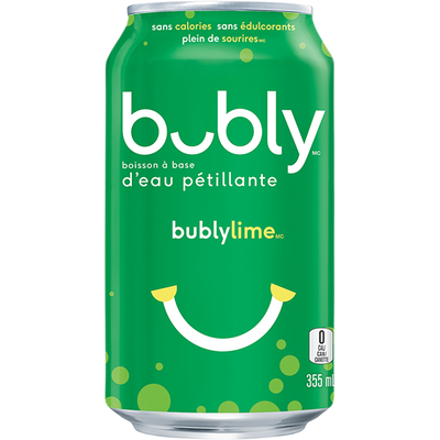 Bubly Lime 355ml