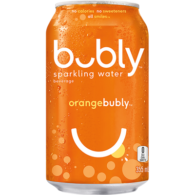 Bubly Orange 355ml