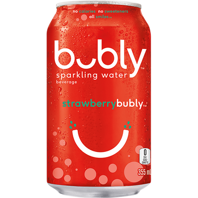 Bubly Strawberry 355ml