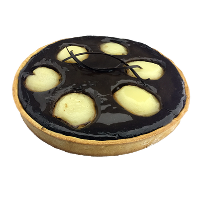 Pear Chocolate Tart