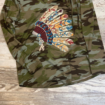 Native Camo Top