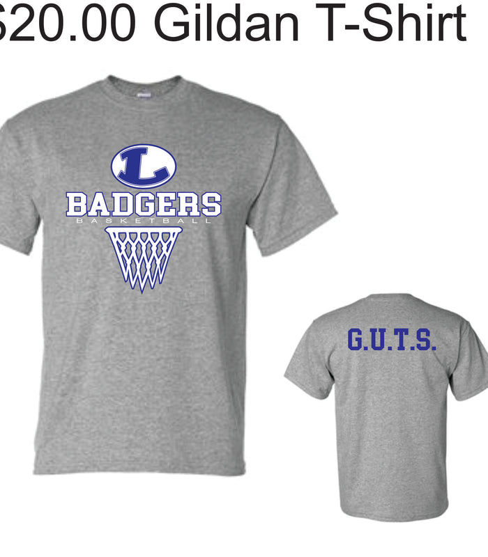 Lampasas Basketball Shirts