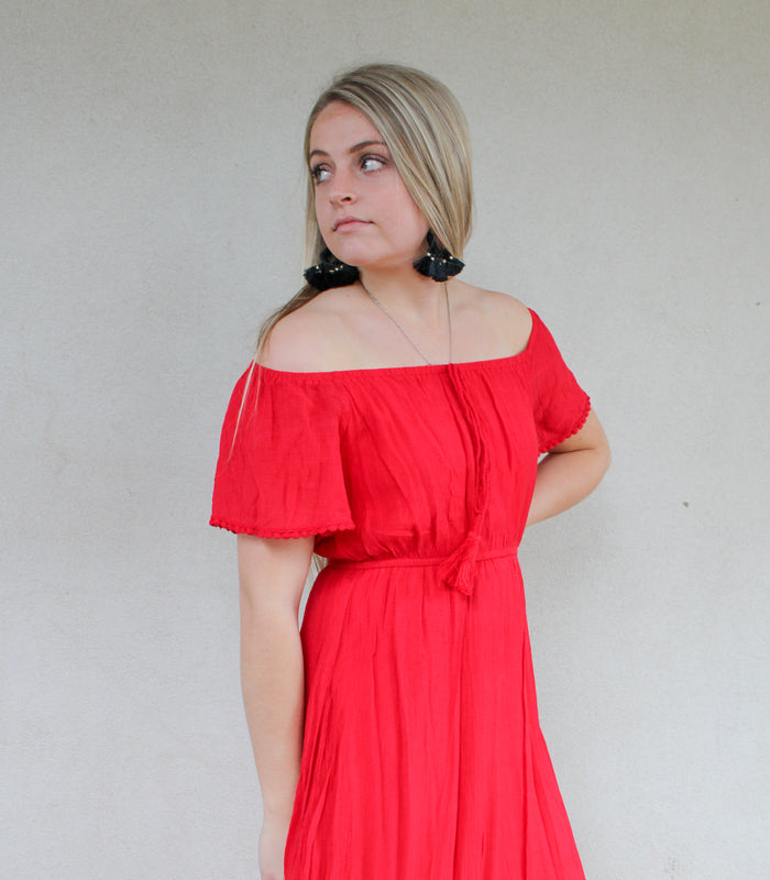 Red Fiesta Dress