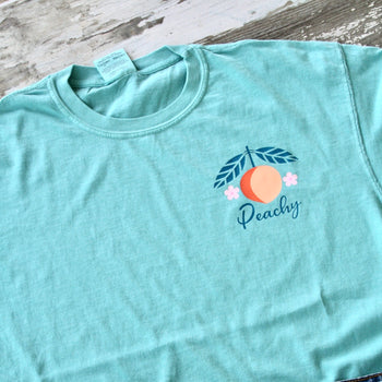 Peachy Pocket Tee