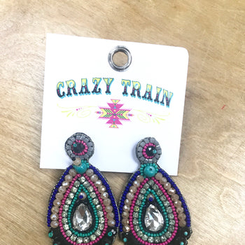 Queen Bead Earrings