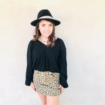 Judy Blue Leopard Skirt