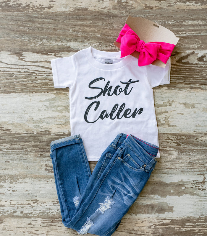 Shot Caller Youth & Adult Tee