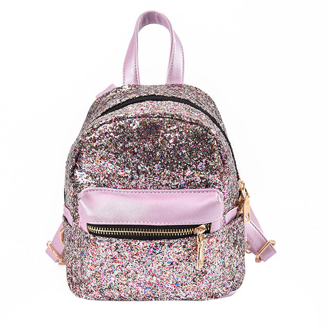 """Femme Fatal"" Sequin Mini Backpack"