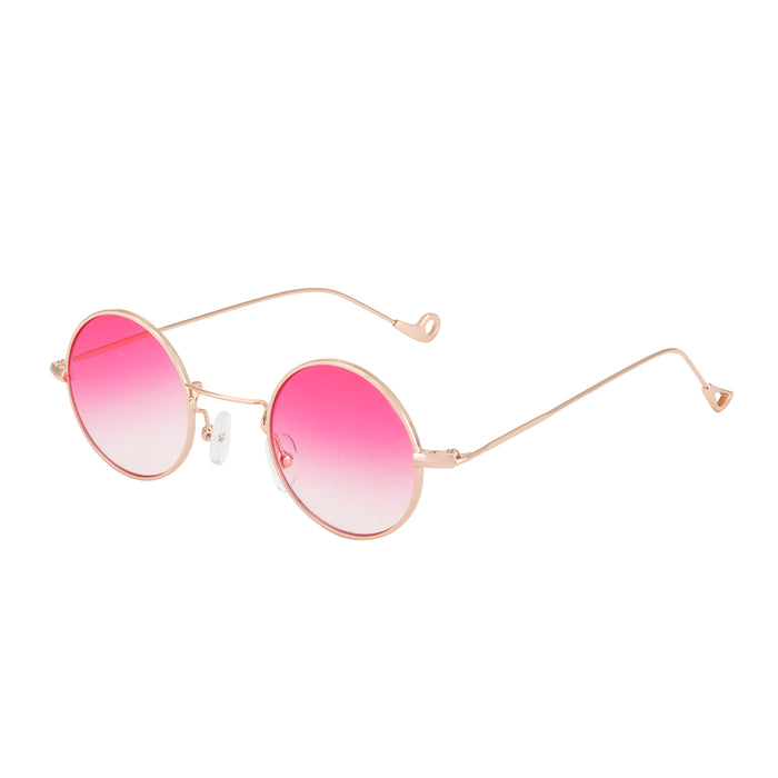 """Strawberry Fields"" Women's Round Sunglasses"