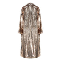 """All That Glitters"" Sequin Duster Trench Coat"
